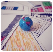 squared mini globe rounded